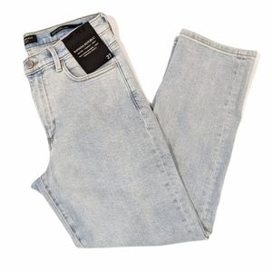 NWT Banana Republic mid rise straight ankle jeans